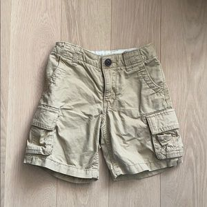 Baby Gap Khaki Cargo Shorts